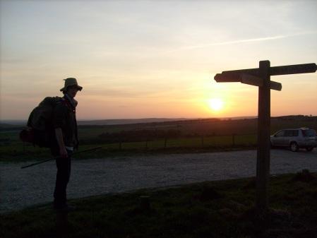 Sunset Waymarker